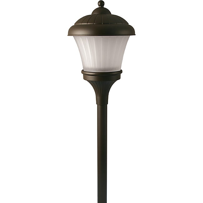 Paradise Aged Brass Finish Garden Lighting (Set of 3)