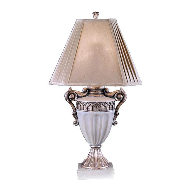 Ivory Vase Lamp (Set of 2)