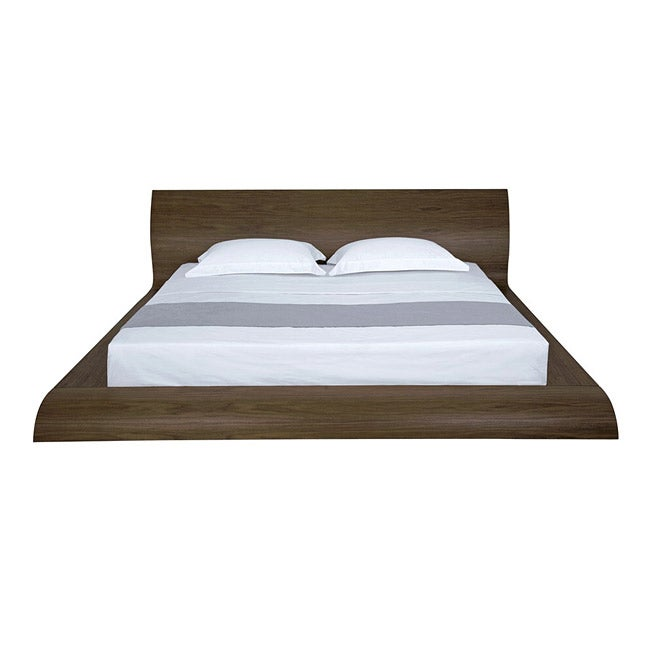 419b78622338 Shop Waverly Modern Walnut Finish California King-size Bed - Free Shipping  Today - Overstock.com - 6606315