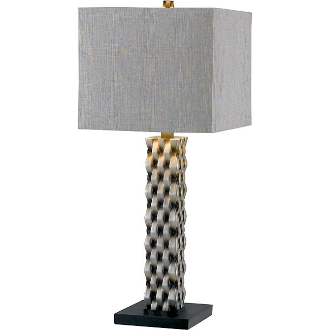 Mayfield 30-inch Aged Silver Finish Table Lamp