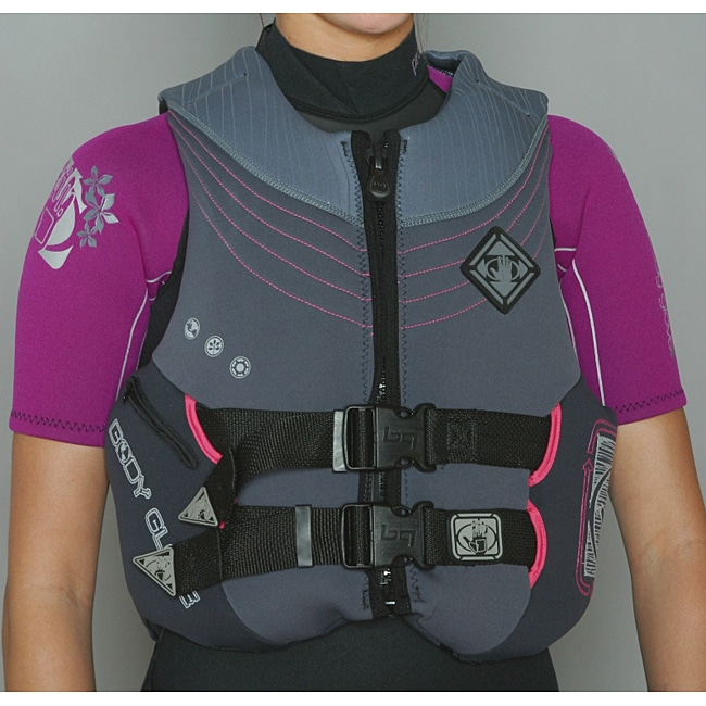 Body Glove Women's Grey/ Black Formula PFD Life Jacket
