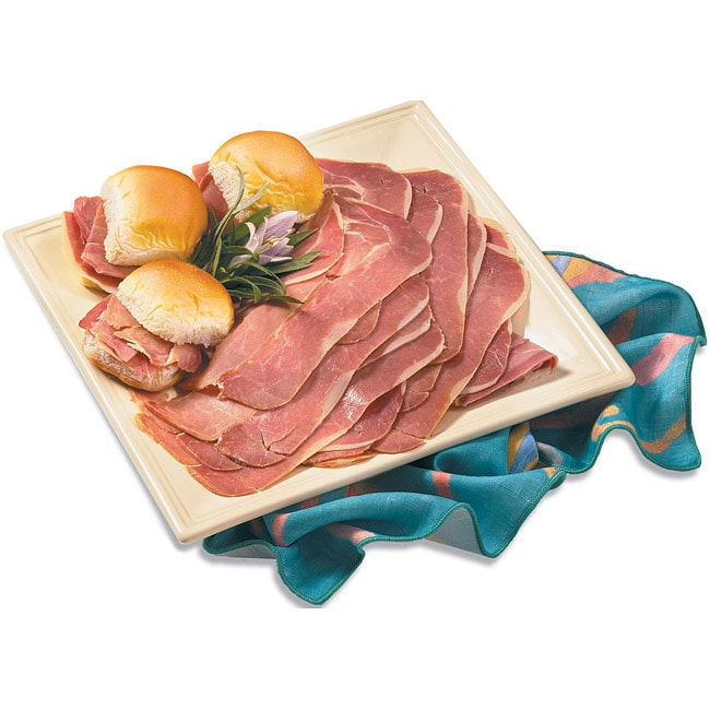 Smithfield Marketplace Four-pound Dry-cured Cooked/Trimmed Ham Slices