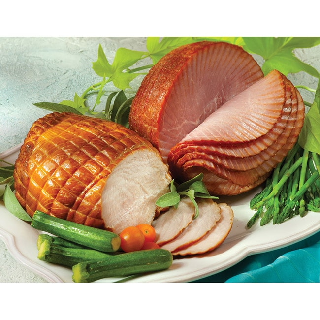 Smithfield Marketplace Petite Ham and Smoked Turkey Breast Combo