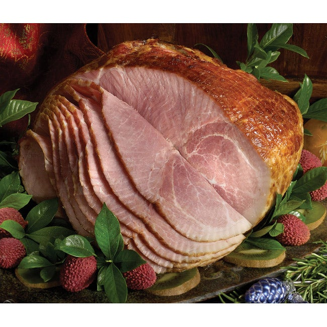 Paula Deen Honey Cured/ Glazed Spiral Sliced Half Ham