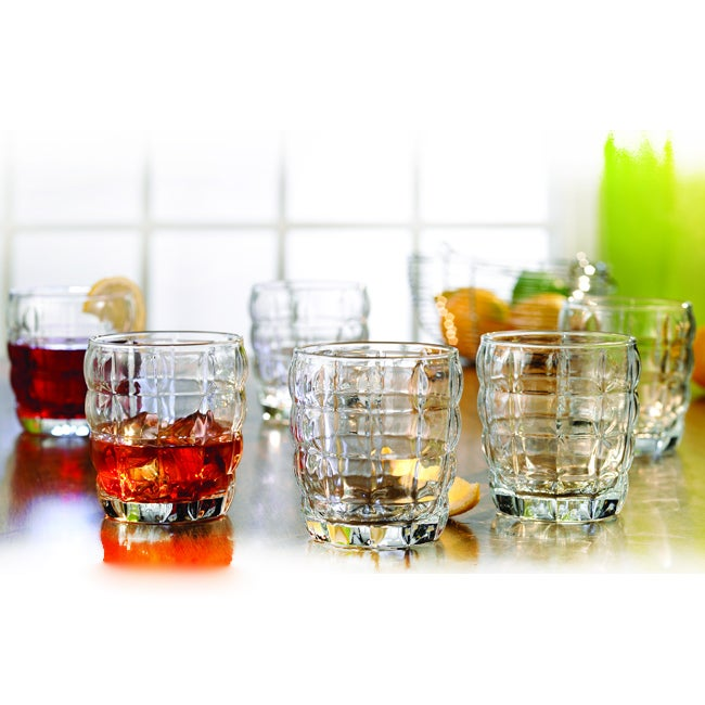 Style Setter Double Old-Fashioned Glasses (Set of 6)