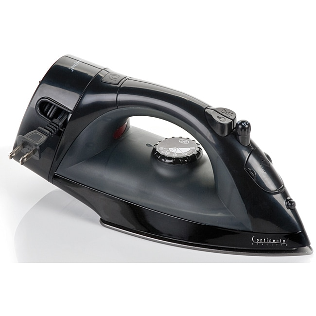 Continental Electric Retractable Cord Iron