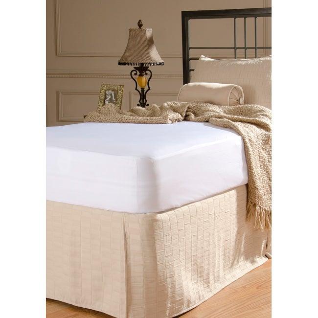 Rest Assure Waterproof Cotton Queen-size Mattress Cover