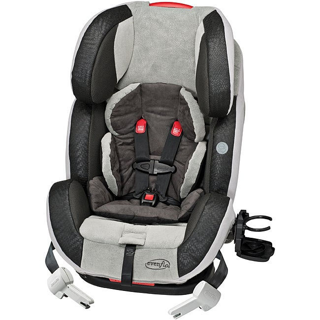 Evenflo Symphony 65 e3 TruTether All-In-One Car Seat in Milo