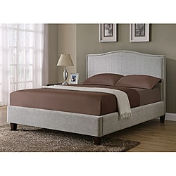 Light Grey Queen-size Bed