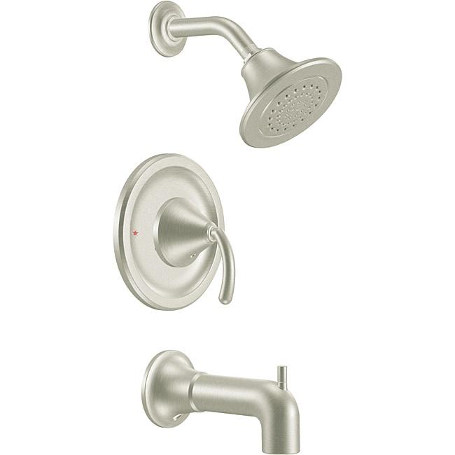 Moen TS2143BN ICON Posi-Temp Brushed Nickel Tub/Shower Trim