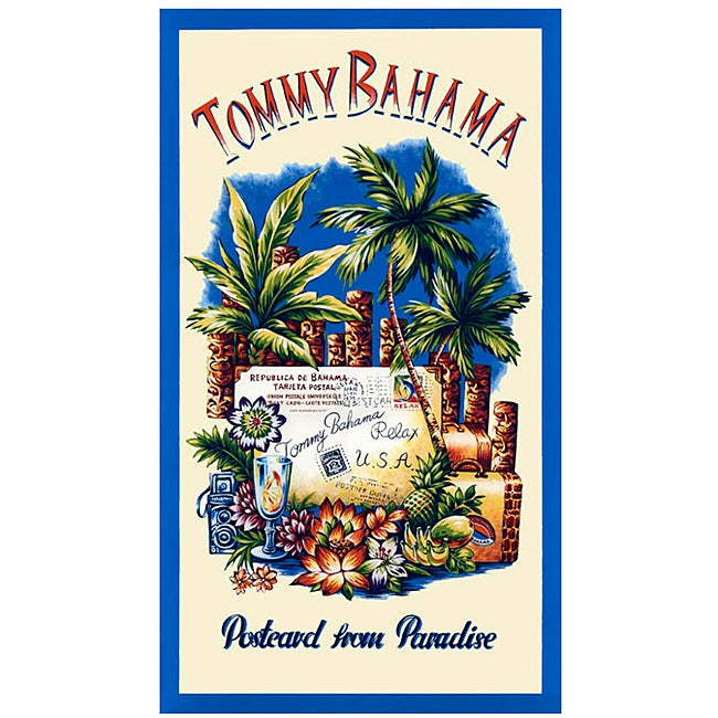 Tommy Bahama 'Postcards from Paradise' Deluxe Cotton Beach Towel