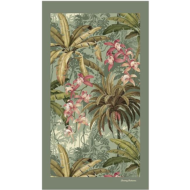Tommy Bahama Bathroom Towels: Tommy Bahama 'Rainforest' Deluxe Cotton Beach Towel