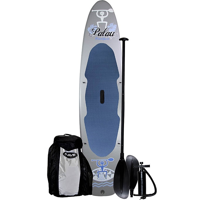 Rave Sports Palau Stand Up Paddle Board with Kayak Adjustable Seat - Thumbnail 0