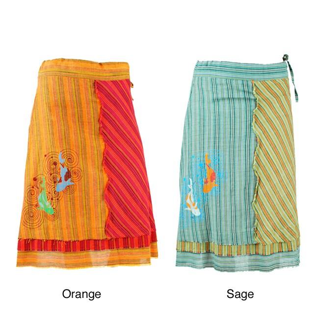 Handmade Cotton Koi Fish Skirt (Nepal)