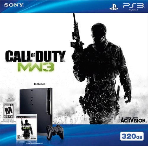 PS3 - 320GB Hardware Call Of Duty: Modern Warfare 3 Bundle