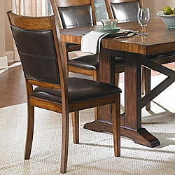 Farnham Warm Brown Dining Chairs (Set of 2)