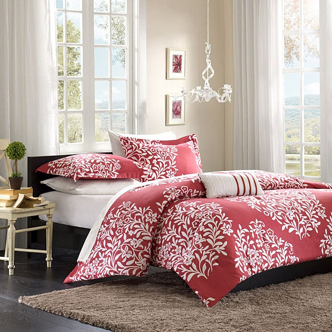 Mi Zone Lyon Full/ Queen 4-piece Comforter Set