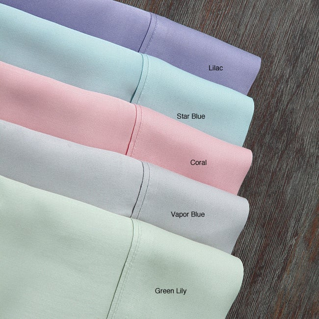 Rayon from Bamboo Standard and King Pillowcases