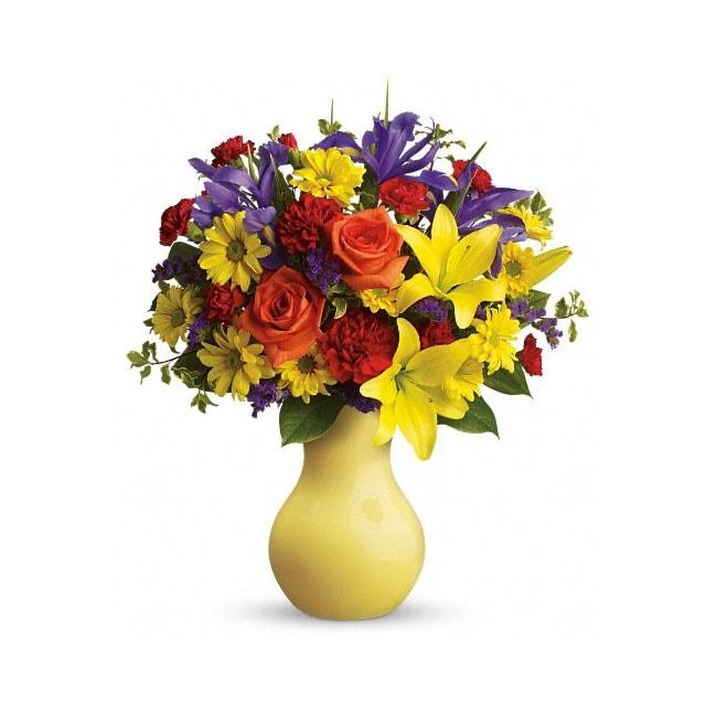 Teleflora Start the Party Hand-arranged Flower Bouquet