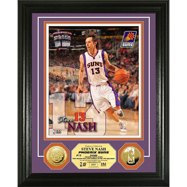 Phoenix Suns Steve Nash Gold Coin Photo Mint