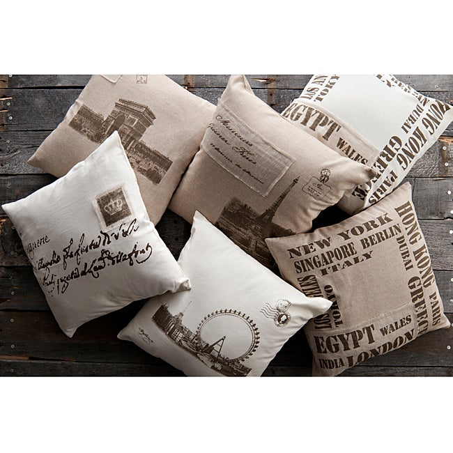 Old World Decorative 18-inch Pillows (Set of 6) - Thumbnail 0