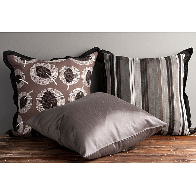 Shining 18-inch Decorative Pillows (Set of 3)