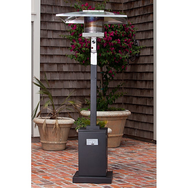Fire Sense Square Mocha Patio Heater