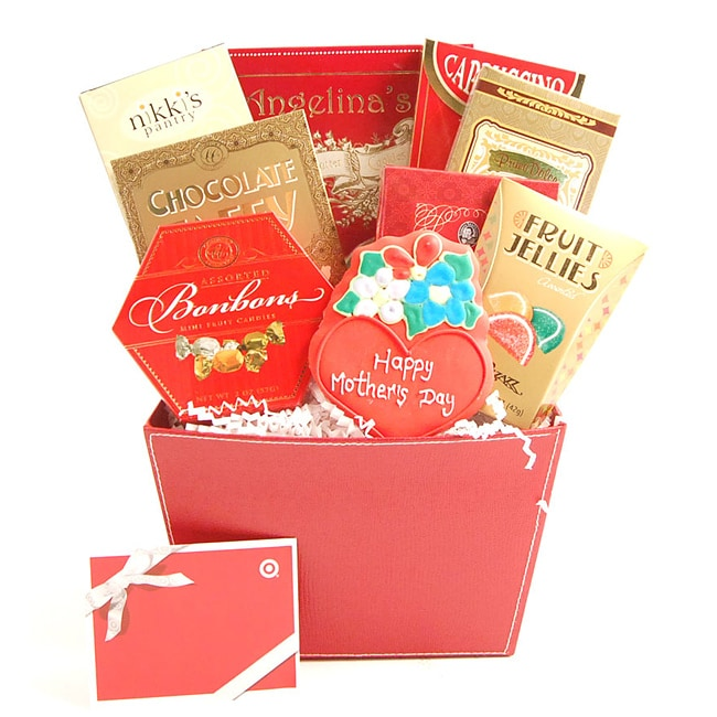 Mother's Day Cheer Gift Basket With $50 Target Gift Card