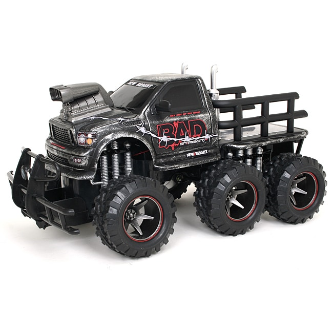 Remote Control 1:14 Scale Scratch Paint Bad Six Wheeler