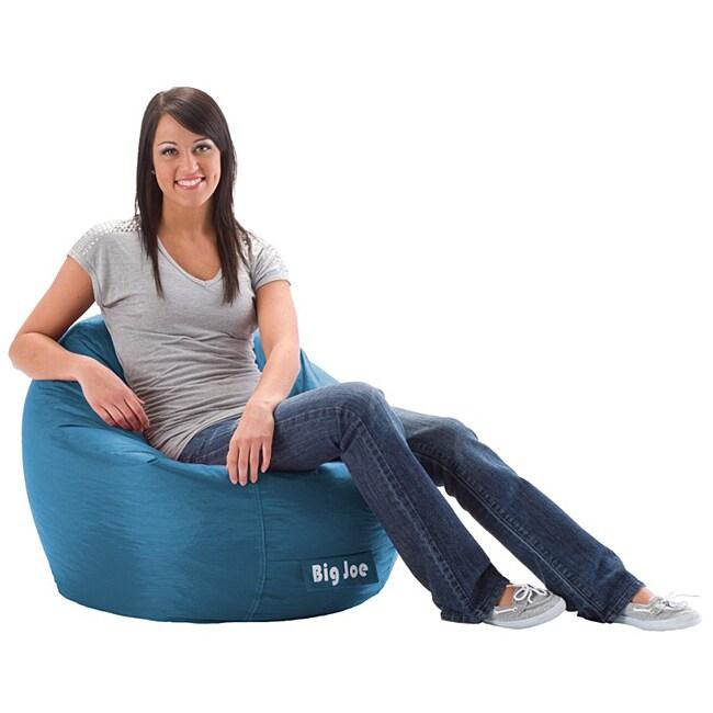 Shop BeanSack Super Joe Pacific Blue Bean Bag Chair - Free Shipping Today -  Overstock.com - 6649155 a647e97f37568