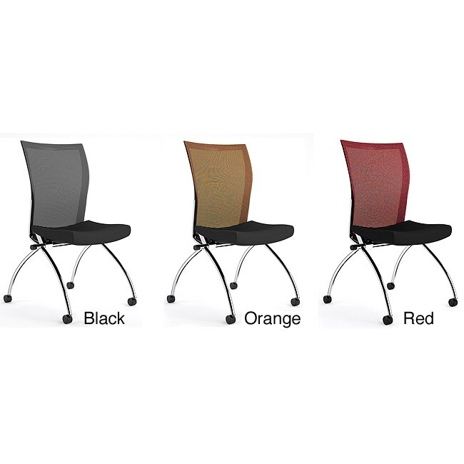 Mayline Reflections Nesting Task Chairs without Arms-2 per box