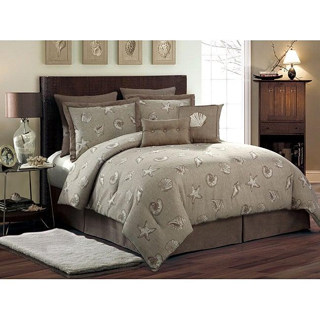 VCNY Key West 8-piece Queen-size Comforter Set