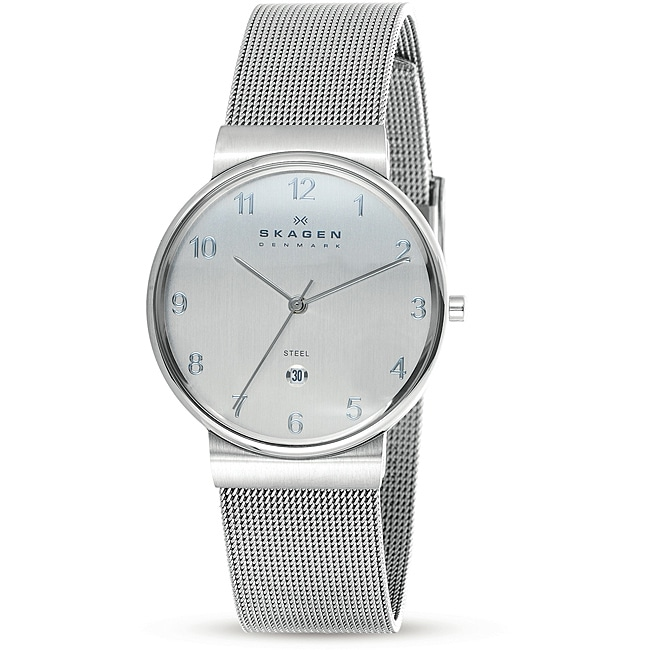 Skagen Men's Stainless Steel Mesh Band Watch