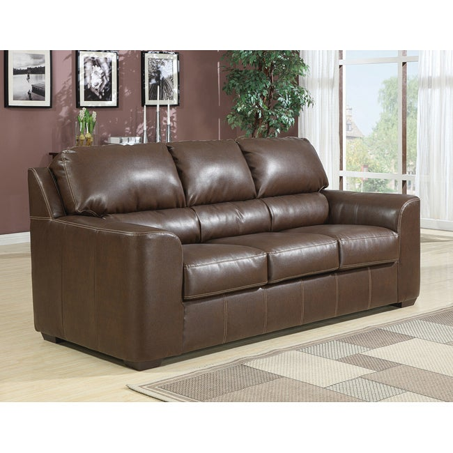 Andrew Full Brown Sleeper Sofa - Thumbnail 0