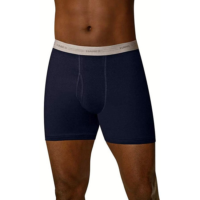 Hanes Men's Dyed Boxer Briefs (Pack of 4)