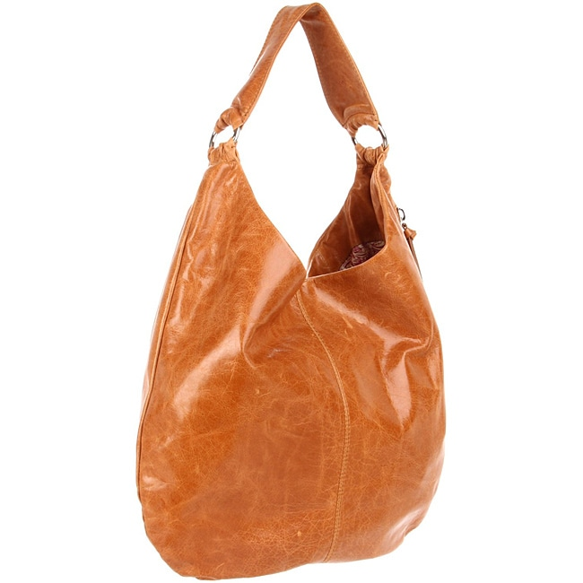 Hobo International Gabor Caramel Leather Hobo Bag