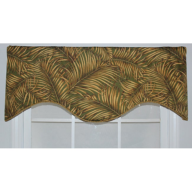 Palm Dream Cornice Valance