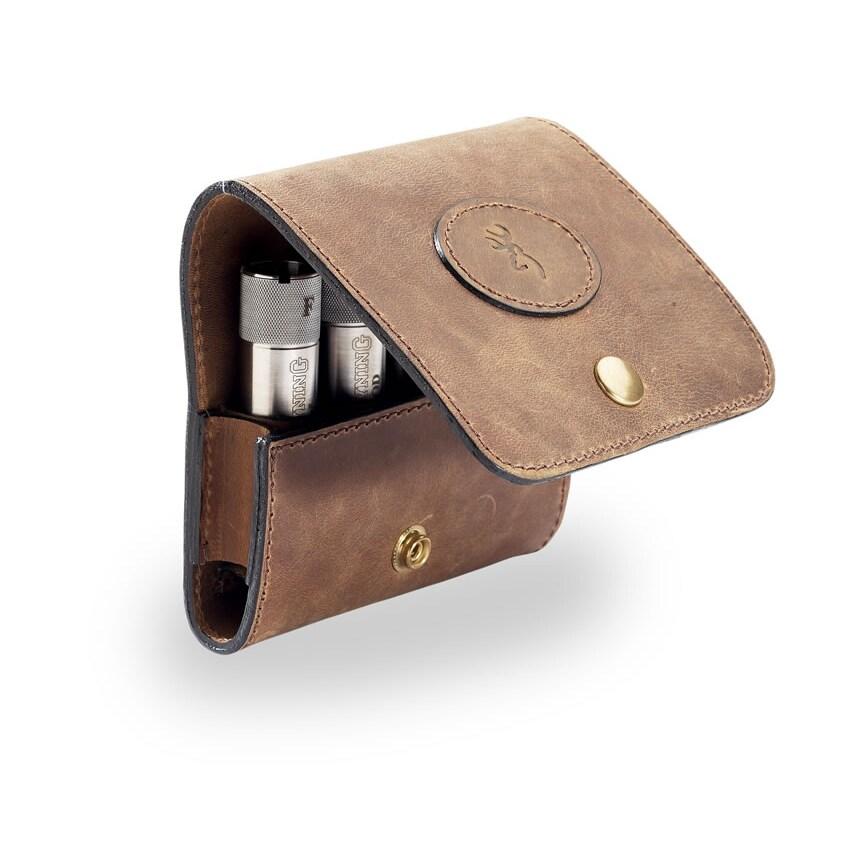 Browning Crazy Horse Leather Choke Tube Case