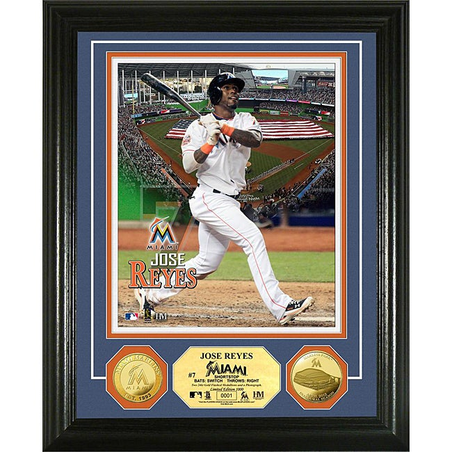 Jose Reyes Gold Coin 'Showcase' Photo Mint