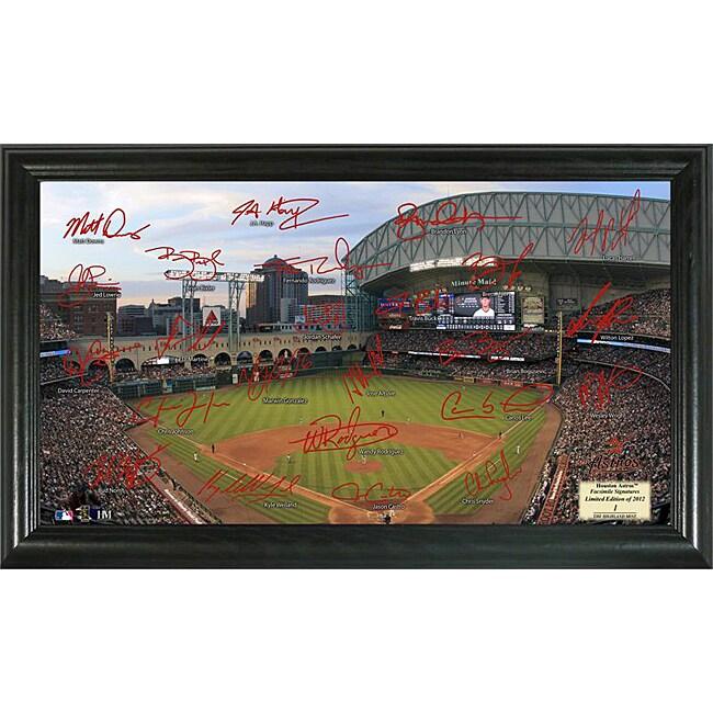 Houston Astros Signature Field Frame