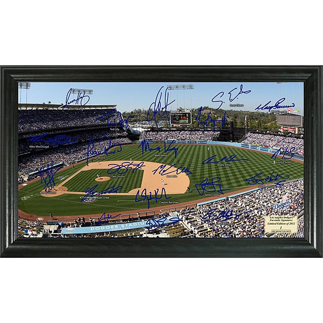 Los Angeles Dodgers Signature Field Frame