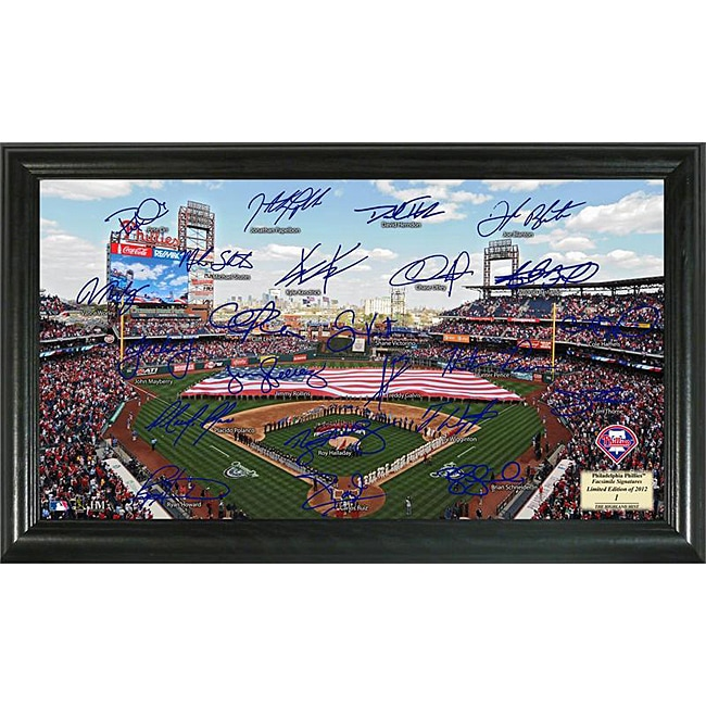 Philadelphia Phillies Signature Field Frame - Thumbnail 0