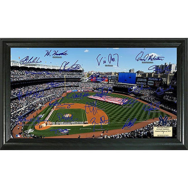 New York Yankees Signature Field Frame