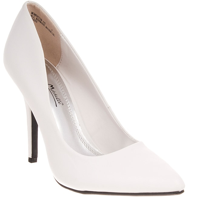 Riverberry Women's 'Momentum' White Pumps