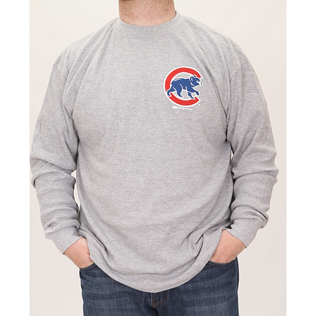 Stitches Men's Chicago Cubs Thermal Shirt - Thumbnail 0