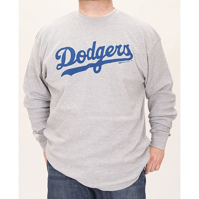 Stitches Men's LA Dodgers Thermal Shirt - Thumbnail 0