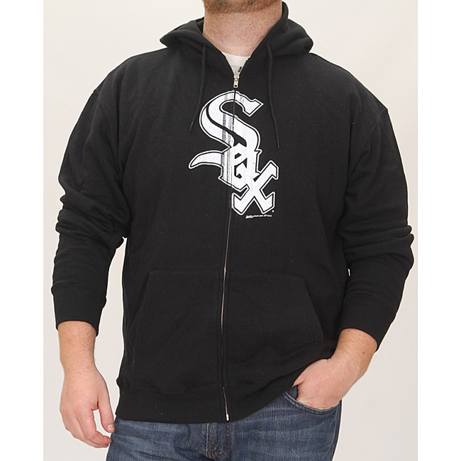 Stitches Men's Chicago White Sox Full Zip Hoodie