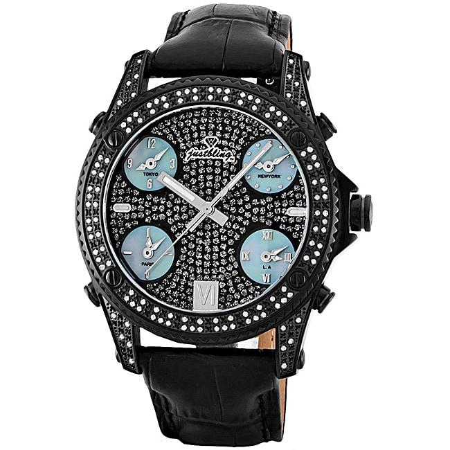 JBW Men's Jet Setter Diamond Watch