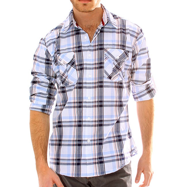 191 Unlimited Men's Plaid Woven