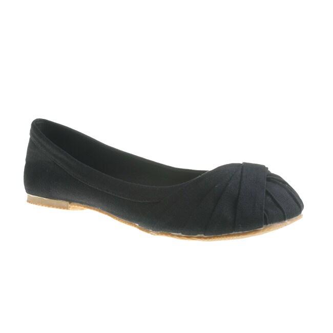 Refresh By Beston Women's LAUREN-01 Ballet Flats